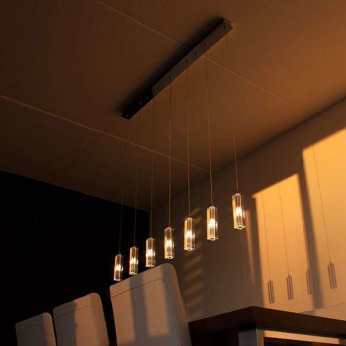 Hængelampe-Ceres-7-krom