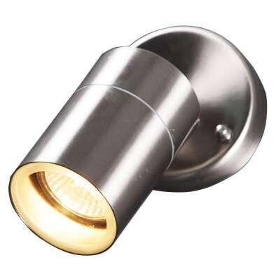 Udendørslampe-Solo-væg-justerbart-stål