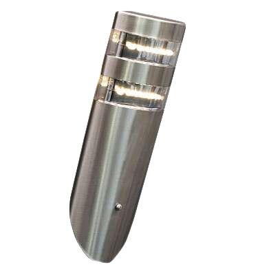 Udendørslampe-Delta-væg-vinklet-LED