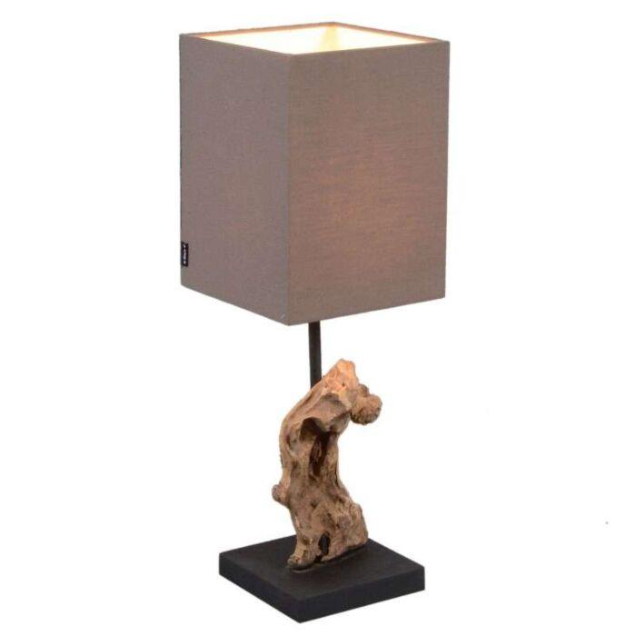 Bordlampe-Vamida-med-brun-skygge
