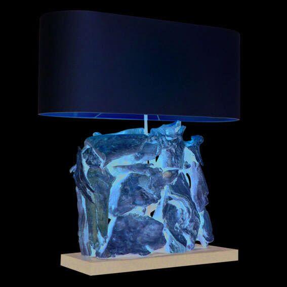Bordlampe-Raman-Recta-Bleget-med-cremeskærm