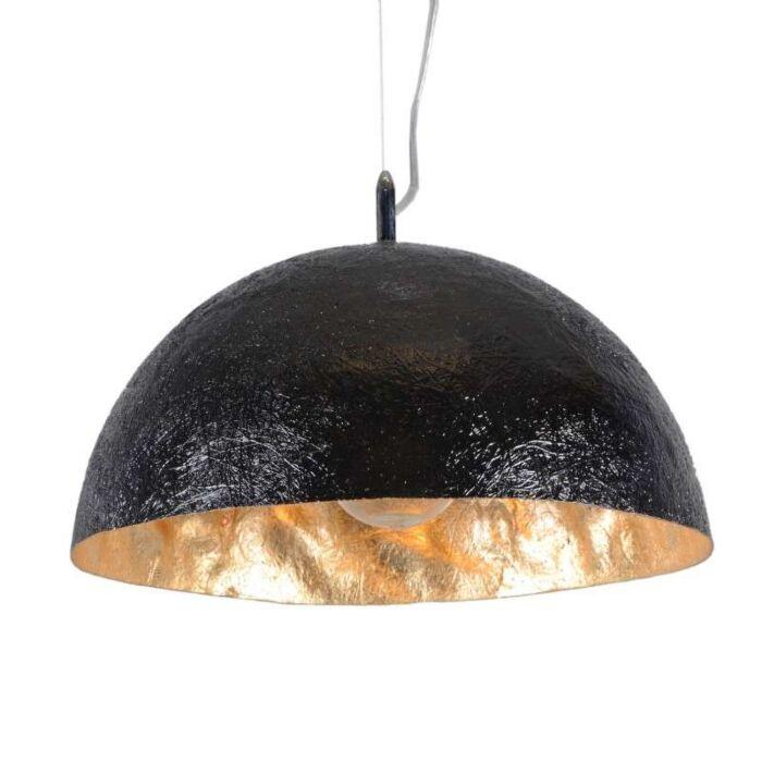 Hængelampe-Magna-40-sort---guld
