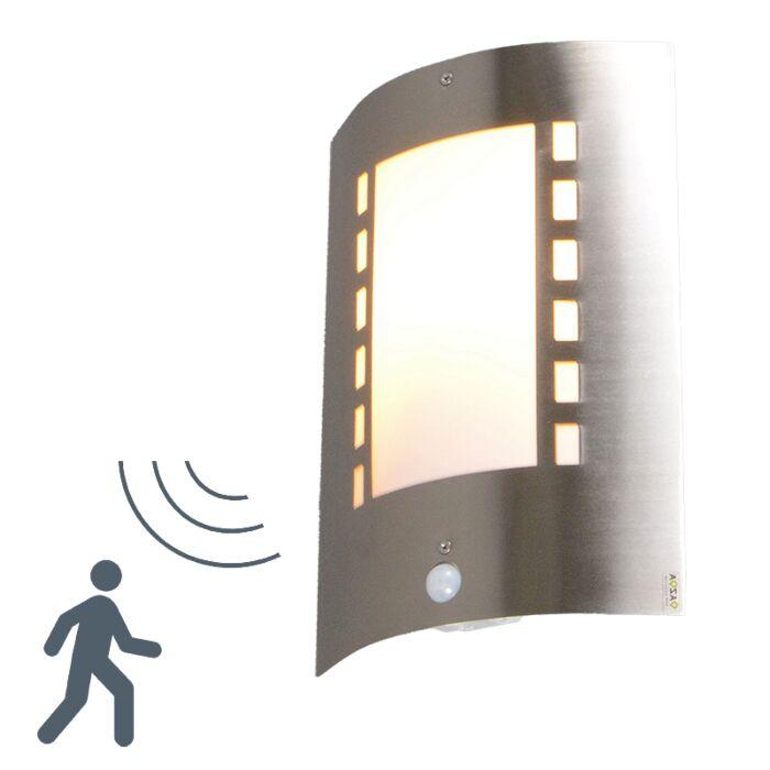 Udendørs-lampe-Emmerald-med-bevægelsesdetektor