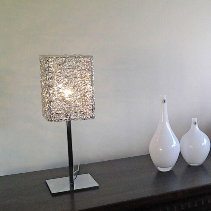 Bordlampe-Draht-Square-L-aluminium