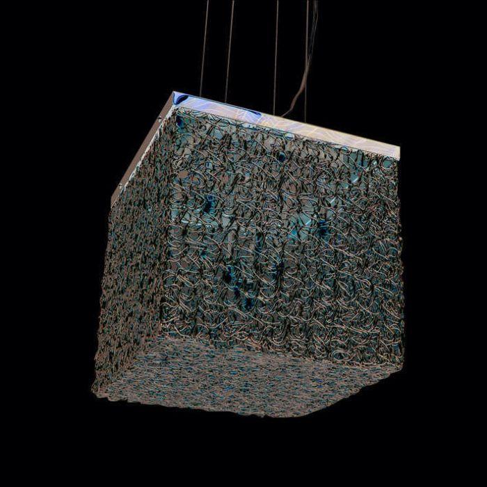 Hængelampe-Draht-Square-10-aluminium