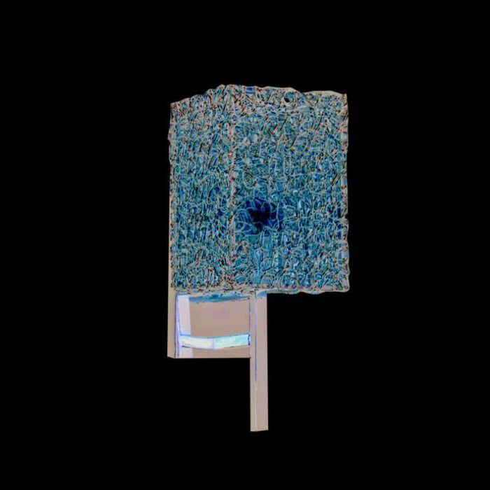 Væglampe-Draht-Square-aluminium