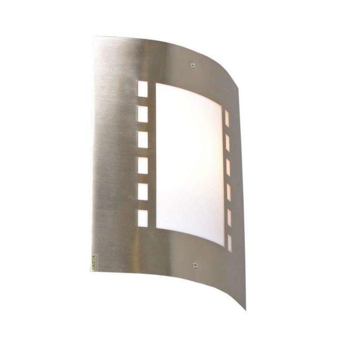 Udendørslampe-Emmerald-rustfrit-stål