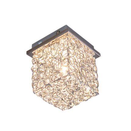 Loftlampe-Draht-Square-S-aluminium