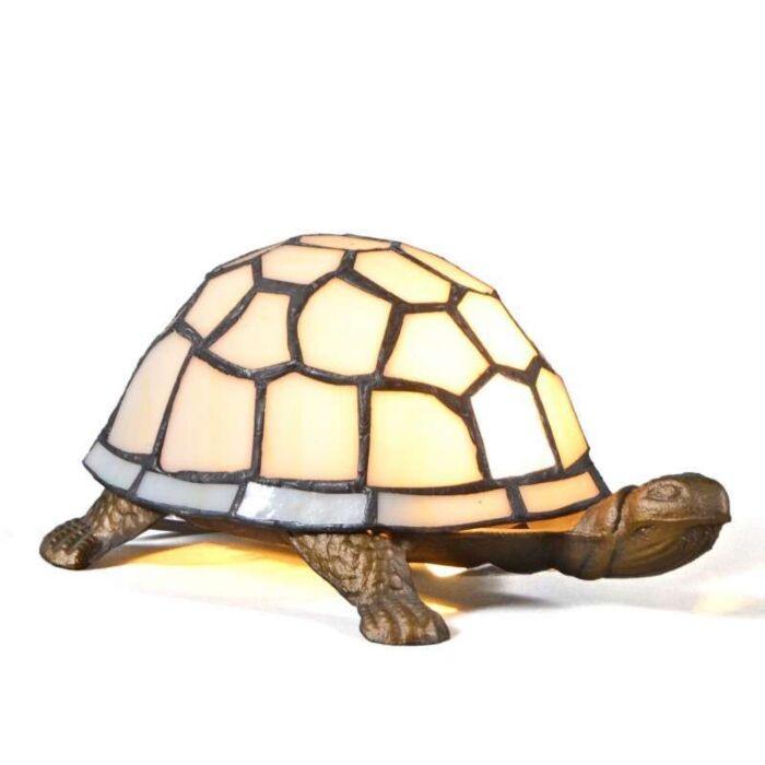 Tiffany-bordlampe-Turtle
