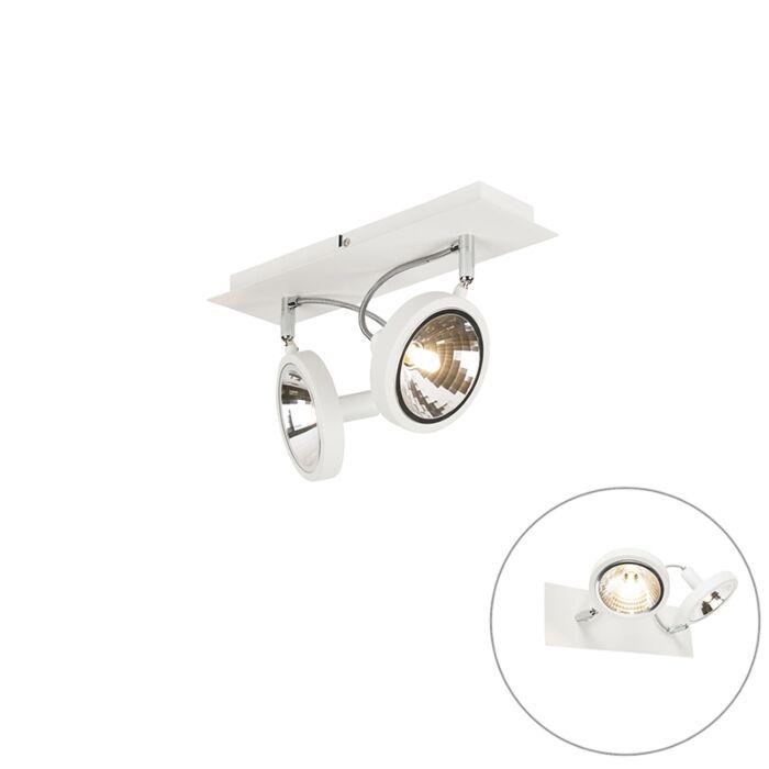Design-spot-hvid-2-lys-justerbar---Nox