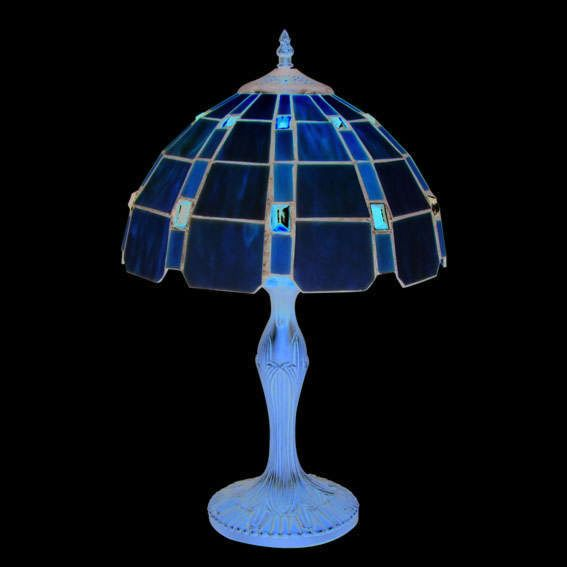Tiffany-bordlampe-Liddesdale-stor