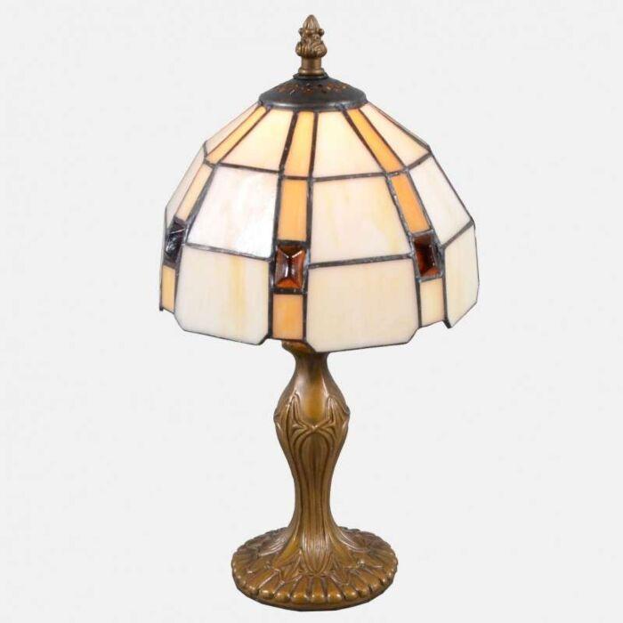 Tiffany-bordlampe-Liddesdale-lille