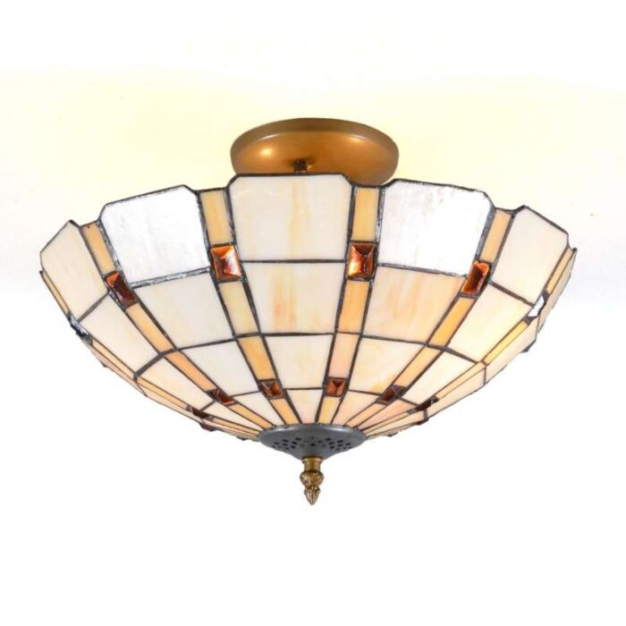 Tiffany-loftlampe-Liddesdale