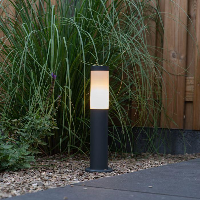 Udendørslampestang-antracit-45-cm-IP44---Rox