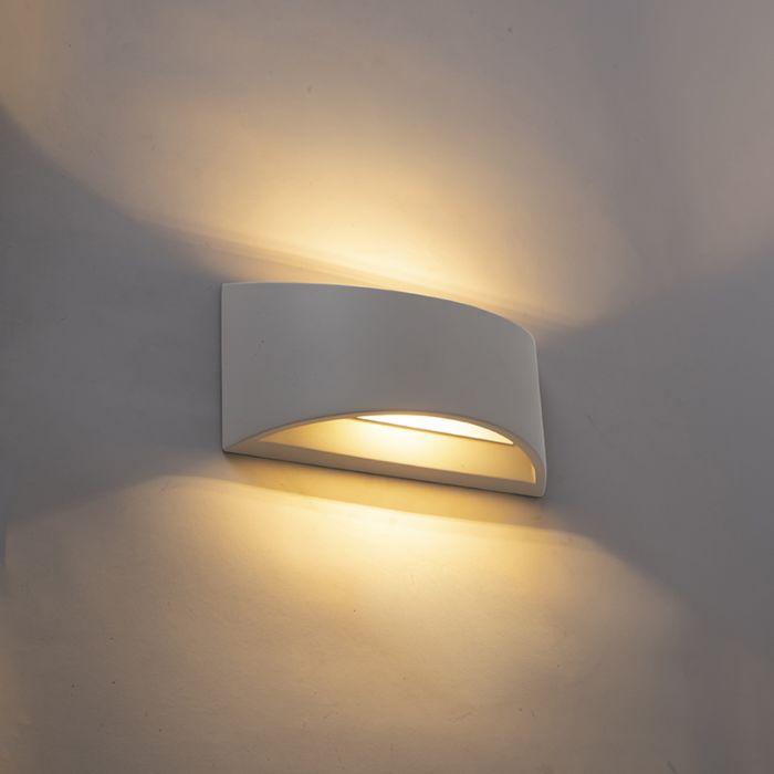 Industriel-væglampe-grå-beton---Creil