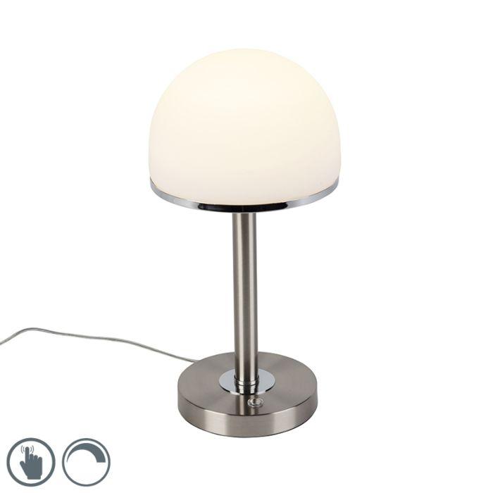 Vintage-bordlampe-stål-inkl.-LED-og-touch---Bauhaus