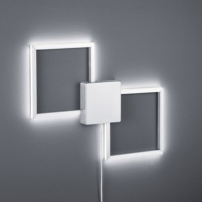 Moderne-væglampe-stål-inkl.-LED---Carpo