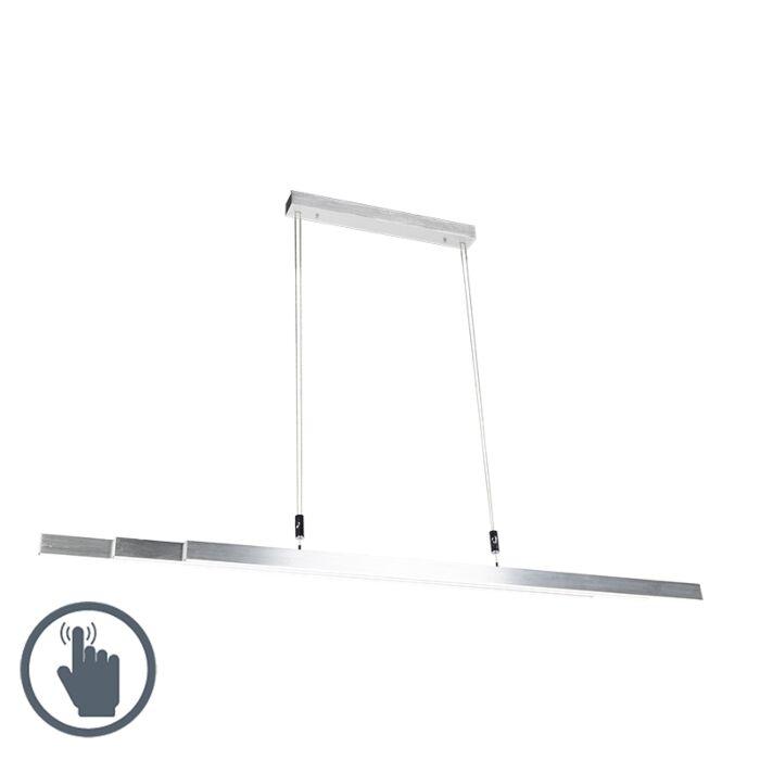 Moderne-hængelampe-aluminium-inkl.-LED---Plazas-3