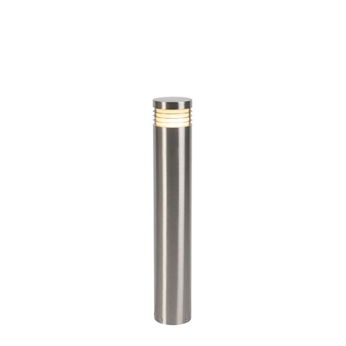 Moderne-stående-udendørs-lampe-stål-60-cm-IP44---Dok